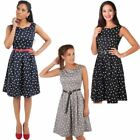 Pin-Up Cotton Dresses for Women