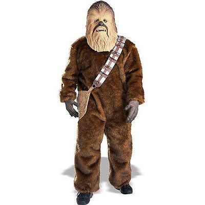 New Chewbacca Star Wars Disney Adult XL Costume by Rubies 56107 Costumania](Adult Chewbacca Costume)