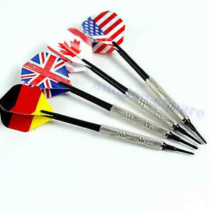 4Pcs-Dart-Soft-Tip-Bar-Darts-Brass-With-Nice-National-Flags-Flights-Throwing-Toy