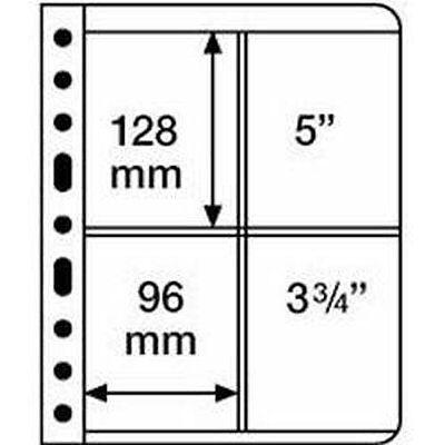Kunststoff Taschen Vario 2-way Division vertikal Divided schwarz Film