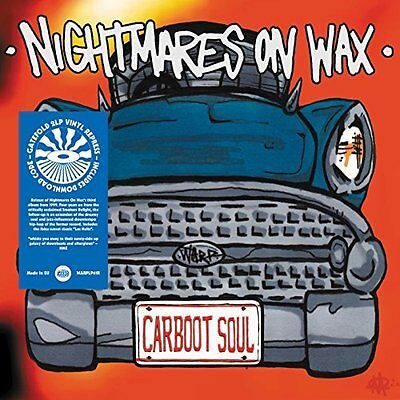 NIGHTMARES ON WAX-CARBOOT SOUL (GATE)  VINYL LP NEW