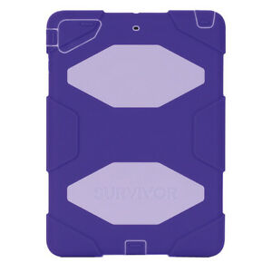 Like New Open Box Griffin Survivor iPad Air Case - Purple
