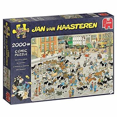 Puzzel JvH De Veemarkt 2000 Stukjes 19078 US IMPORT NEW - $49.14