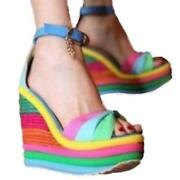 Multi Colour Heels