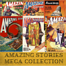 AMAZING STORIES Sci-Fi Pulp Vintage Retro Magazines - 485 Issues on 1 Data-DVD