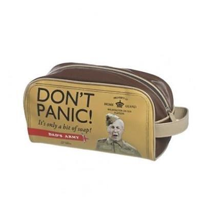 DADS ARMY GIFTS - DON'T PANIC WASH/ TRAVEL BAG 401280 - NEW