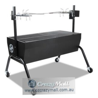 Unrivalled Charcoal BBQ Spit Roaster with Rotisserie