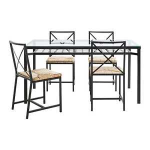 IKEA Glass-top Dining Table -  $50 obo