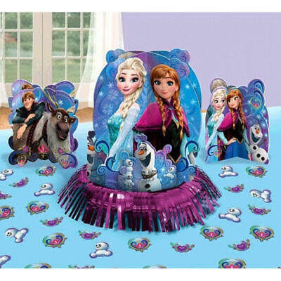Center Table Decorations (Disney Frozen Table Decorating Kit Birthday Party Supplies Center Piece)