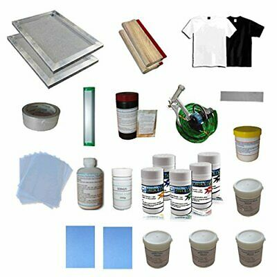 1 Color Silk Screen Printing Consumable Materials Kit - 006812