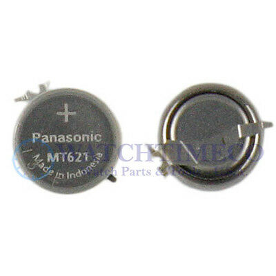 Panasonic MT621 Battery Capacitor Seiko Kinetic Solar V137 V138