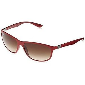 31553ec5f6 Authentic Ray-Ban Sunglasses Liteforce Matte Red Brown Gradient ...