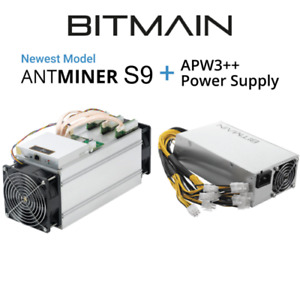 Brand New Antminer S9 13.5TH/s - Sealed, Fastest Version w PSU