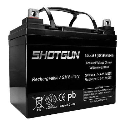 12V 35Ah AGM Battery for RENOGY PV SOLAR PANELS