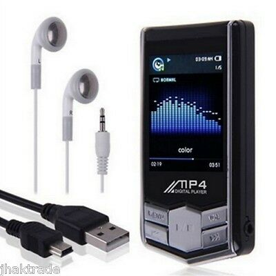 New Black 32gb mp3 4th Generation  Music Media Player Lcd Screen Fm - UK Seller