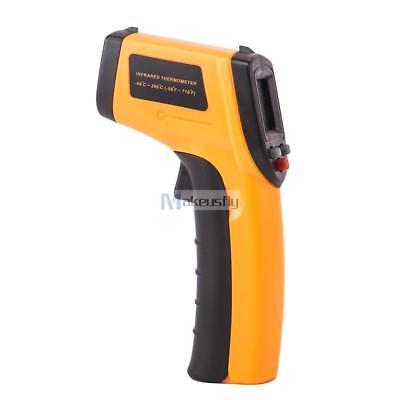 Pro Infrared Thermometer (Pro Digital Temperature Thermometer Measuring Sensor Heat Laser Infrared)