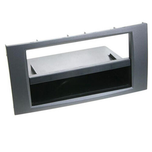 CT24FD55 FORD GALAXY 2006 to 2007 ANTHRACITE SINGLE DIN FASCIA WITH POCKET