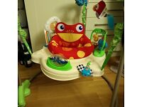 Fisher Price Rainforest Jumperoo, Excellent condition