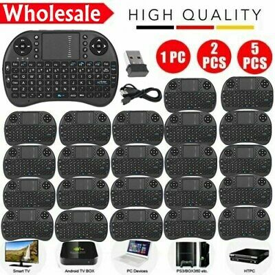 LOT 2.4G Mini Wireless Handheld Keyboard Mouse Touchpad For Android Smart TV Box
