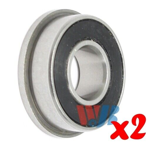 2pc Miniature Ball Bearing WJB 698-ZZ with 2 Metal Shields