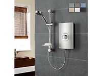 Brand new showers for sale. Thermostatic and electric