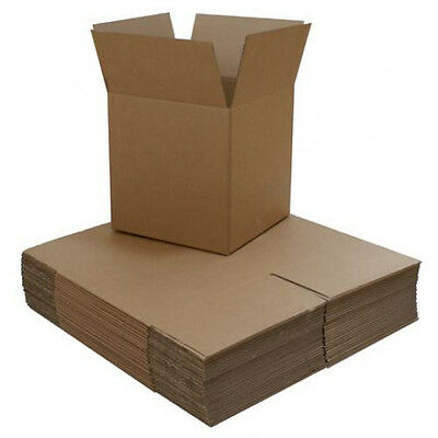 100 - 5 X 5 X 5 Corrugated Carton Boxes W Free Shipping
