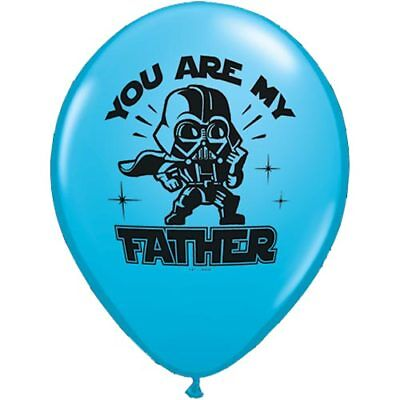 STAR WARS YOU ARE MY FATHER LATEX BALLOONS x 5 - Fathers day - Are Balloons Latex