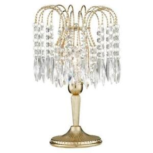 Crystal Table Lamp EBay - Chandelier table lamps crystals