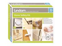 Baby Proofing Lindam Home Safety Kit Door Stop Socket Covers Cabinet Latches