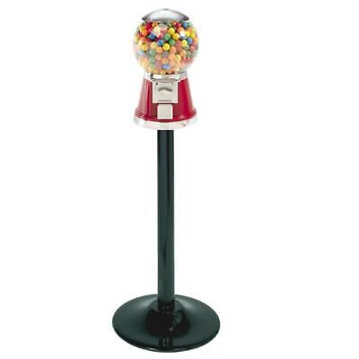 Classic Bubble Bulk Gumballcandy Machine And Stand - Red