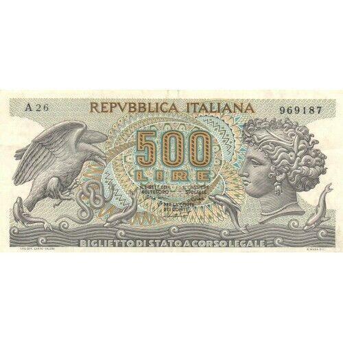 ITALY - 500 LIRE    1975     P.93b