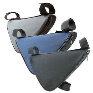 BIKE-BICYCLE-CYCLING-TRIANGULAR-FRAME-CORNER-TRIANGLE-STORAGE-ZIPPED-BAG-POUCH