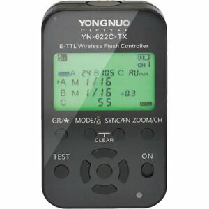 Yongnuo 2 Flash Speedlights and Controller for Canon Camera