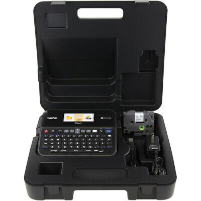 Brother Ptd600vp Pc Connectible Label Maker Printer With Case And Extra Tapes