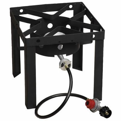 Fryer Steel Stand Gas Stove Propane Burner Portable Outdoor Camping Cooker NEW