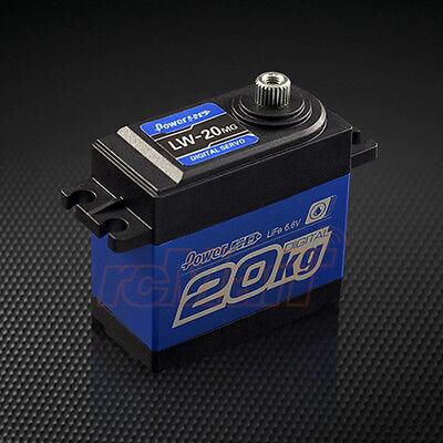 Power HD Waterproof 4.8-6.6V Super Torque Digital Servo Crawler RC Cars #LW-20MG