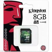 8GB SD Card Class 10