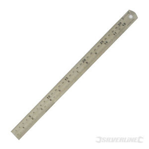 SILVERLINE-STEEL-RULES-150MM-300MM-MODEL-ENGINEERING-TOOLS