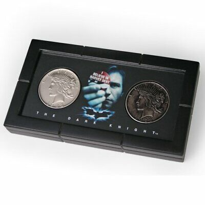 Batman Dark Knight Harvey Dent Two Face Coin Set 1:1 Replica Moneda Dos