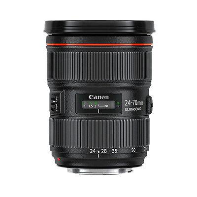 Canon EF 24-70mm f/2.8L II USM Standard Zoom Lens - Brand New