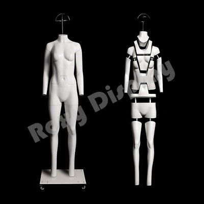 Female Invisible Ghost Mannequin Manikin Display Dress Form Mz-ght-f
