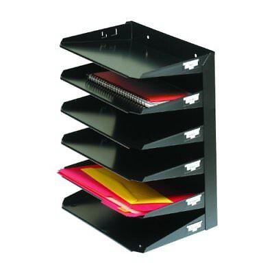 Mmf Steelmaster Horizontal Organizer - Wall Mountable - 14.8 Height X 12 Width