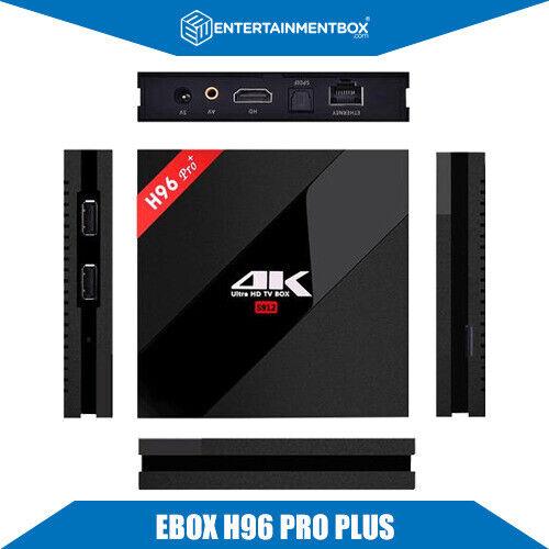 EBox H96 PRO plus 4K Streaming 7 1 2 Android Smart Box 3GB RAM 32GB ROM |  in Stretford, Manchester | Gumtree