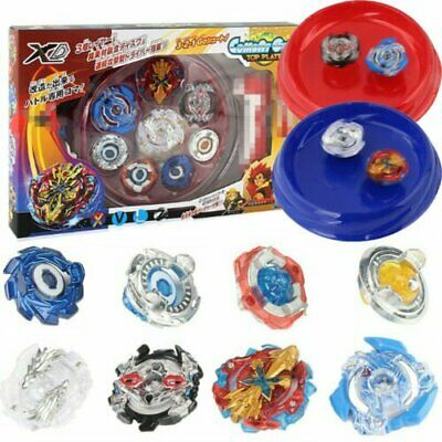 Bayblade Beyblade Burst 4D Set With Launcher Arena Metal Fight Battle Kid Gift