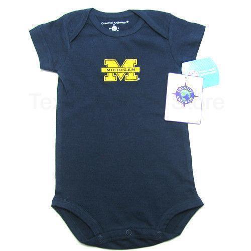 Michigan Wolverines Baby Clothes