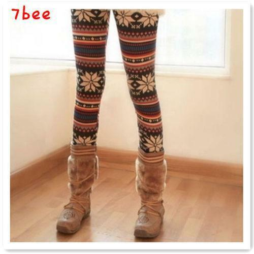 Fair Isle Leggings | eBay