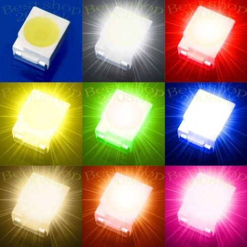 1210/3528 PLCC-2 SMD SMT LED multicolor Super bright