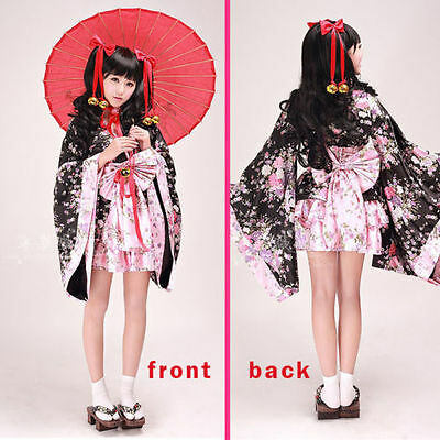 Cosplay Costume Fancy Women girl Lolita Dress Japan Kimono for party and show](Show Girls Costumes)