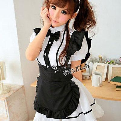 Anime Lolita Cosplay Japanische Verkleidung Kostüm Kleid Mädchen - Japanische Anime Mädchen Kostüm
