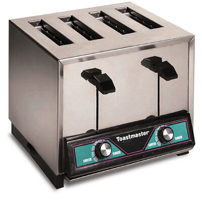 Toastmaster Tp409 Commercial 4 Slice Toaster - Electronic 120v 18.3 Amps